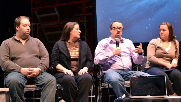 A discussion panel about the use of Casper Focus in education, from the 2013 JAMF Nation User Conference