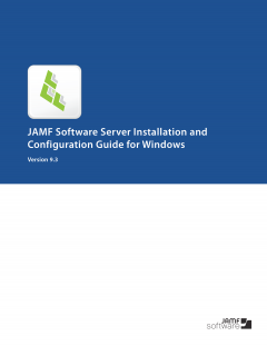 Casper Suite 9.3 JSS Installation Guide for Windows