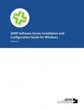 Casper Suite 9.9 Installation Guide for Windows