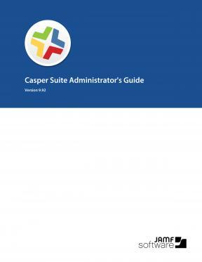 Casper Suite Administrator's Guide, version 9.92