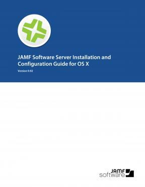 Casper Suite Installation Guide for OS X, version 9.92