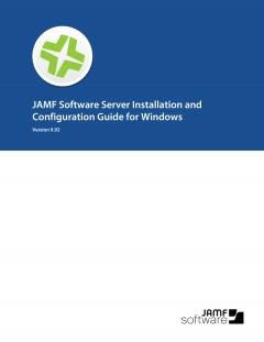 Casper Suite Installation Guide for Windows, version 9.92