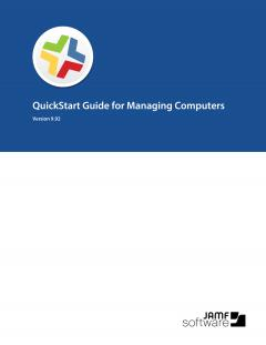 Casper Suite QuickStart Guide for Managing Computers, version 9.92