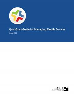 Casper Suite QuickStart Guide for Managing Mobile Devices, version 9.92