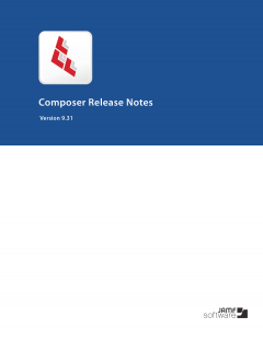 Composer 9.31 Release Notes