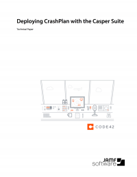 Deploying CrashPlan with the Casper Suite