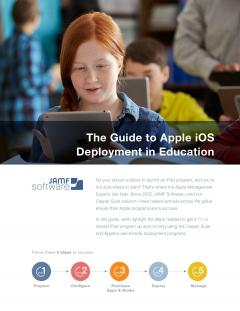 guide to iOS deployment in education