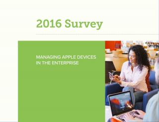 2016 Survey - Managing Apple Devices in the Enterprise