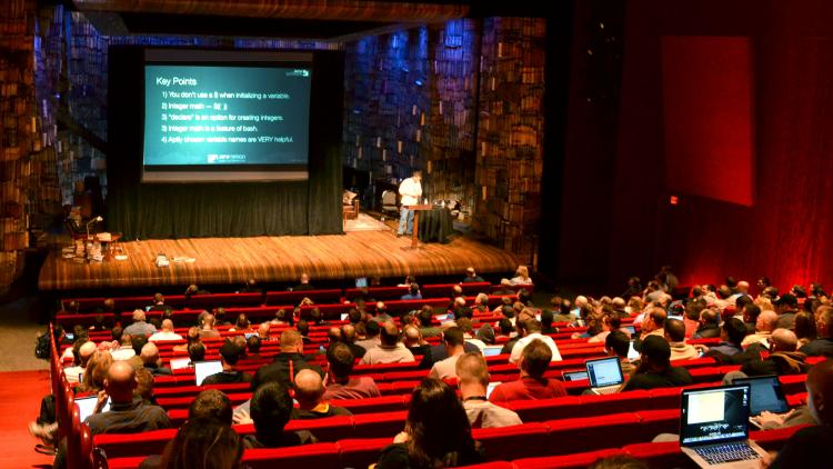 Paul Whitlock and Brad Becker discuss scripting at the 2013 JAMF Nation User Conference