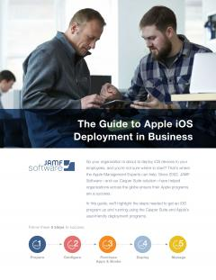 Learn the necessary steps for getting an iOS deployment up and running.