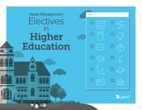 Read this book to learn from from seven schools on why they chose Apple and how they successfully manage their devices.