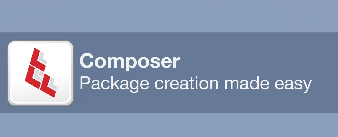 Composer - Package creation made easy