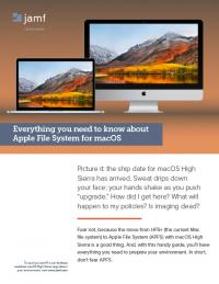 Read this white paper to learn about Apple File System (APFS).