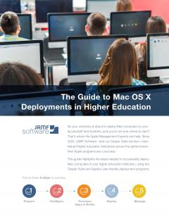 Guide to Mac OS X Deployments in Higher Education