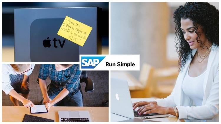 How Apple machines run simple at SAP