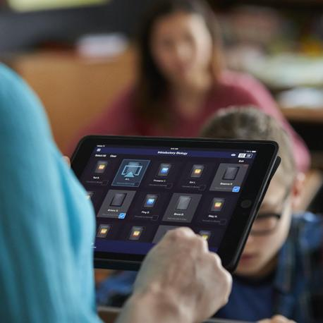 Regain instructional time and Improve classroom transitions with iPad and Casper Focus