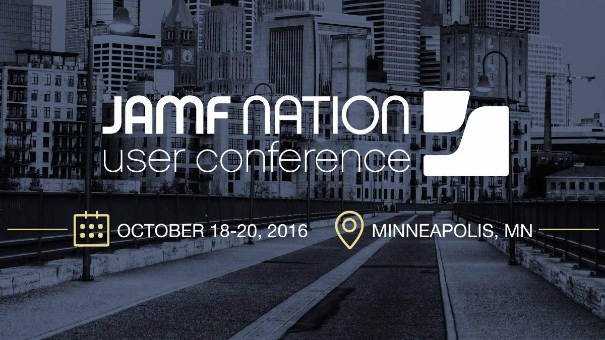 Reserve your spot for the 2016 JAMF Nation User Conference