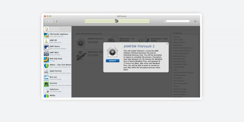 Full disk encryption with FileVault 2 and the Casper Suite