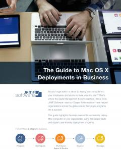 Learn how to successfully deploy Mac computers in your organization, using the Casper Suite and Apple's user-friendly deployment programs