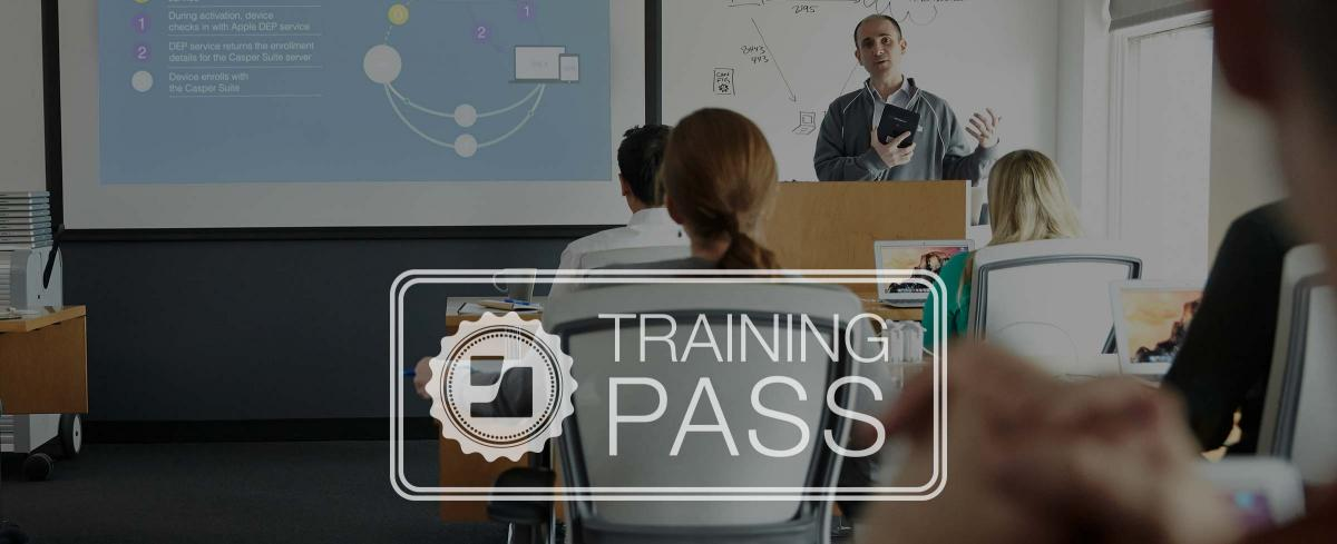 Training Pass for Casper Suite certification courses