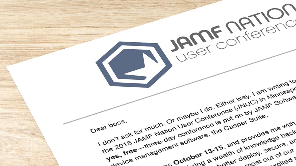 Here are 5 reasons why your boss will want you to go to the JAMF Nation User Conference (JNUC).